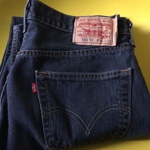 501 XX LEVI STRAUSS W35 L32 Jeans Button Fly Guy